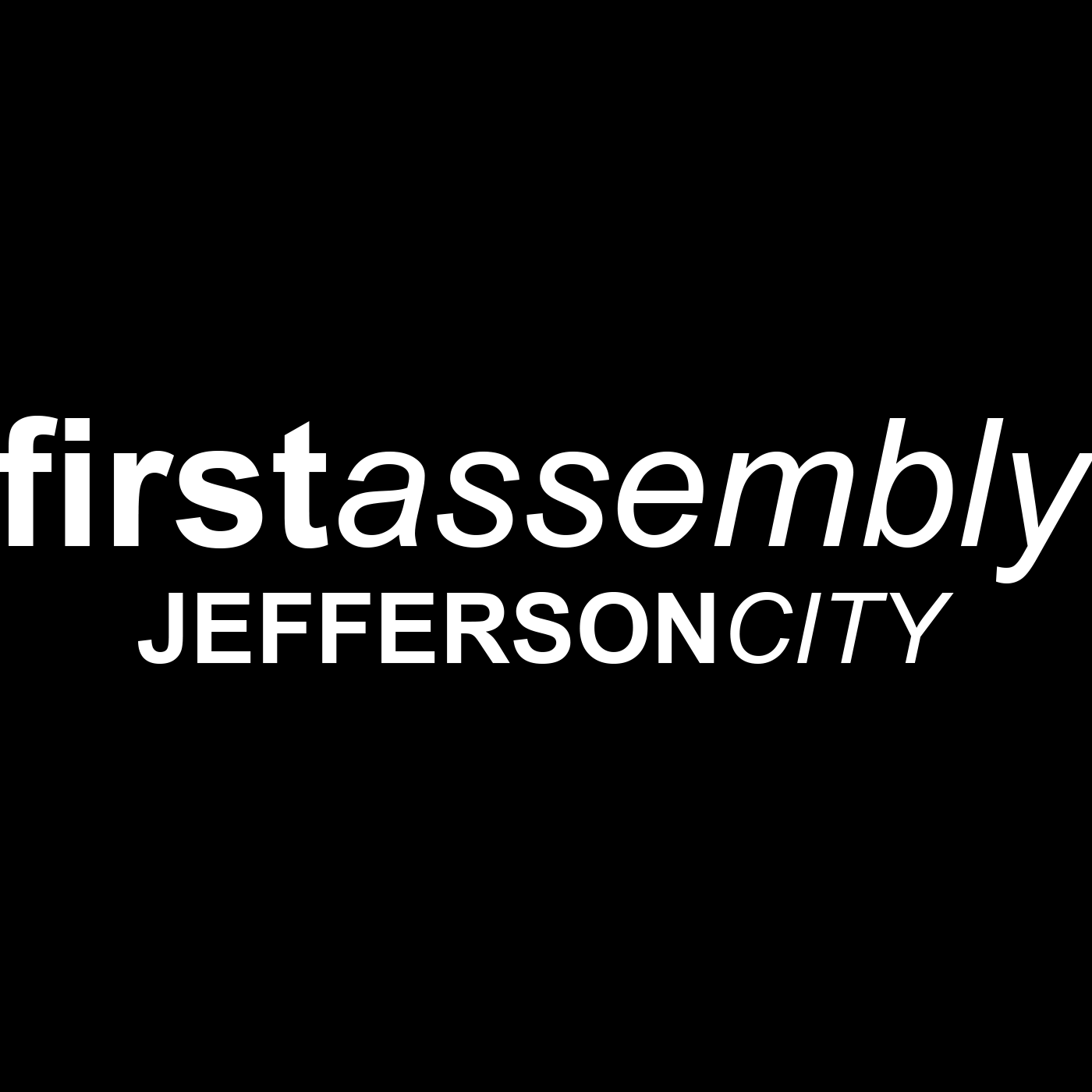 Sermons – First Assembly of God